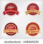 vector badge design set | Shutterstock . vector #148464254