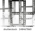 vintage background with film... | Shutterstock .eps vector #148467860