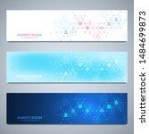 banner design template. concept ... | Shutterstock .eps vector #1484699873