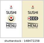 Sushi menu free vector art 1667 free downloads sushi menu cards design template pronofoot35fo Gallery