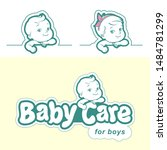 Diaper Logo Template. Baby In...