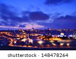 Skyline Of The Old City And...