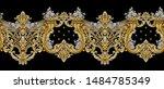 decorative elegant luxury... | Shutterstock . vector #1484785349