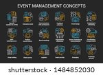event management   planning... | Shutterstock .eps vector #1484852030