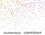 light pink  yellow vector... | Shutterstock .eps vector #1484900969