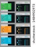 creative bifold business... | Shutterstock .eps vector #1484902973