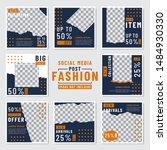 fashion social media post... | Shutterstock .eps vector #1484930330