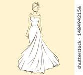 Elegant Bride In Beautiful...