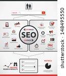 search engine optimization  ... | Shutterstock .eps vector #148495550