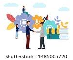 illustration on white... | Shutterstock . vector #1485005720