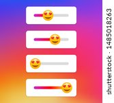 slider emoji stories social...