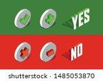 check  add and delete   remove... | Shutterstock .eps vector #1485053870