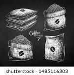 Vector Chalk Drawn...