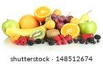 fresh fruits and berries... | Shutterstock . vector #148512674