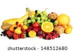 fresh fruits and berries... | Shutterstock . vector #148512680