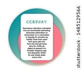 headline sign. headliner paper... | Shutterstock .eps vector #1485129566