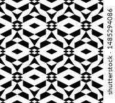 seamless pattern. geometric... | Shutterstock .eps vector #1485294086