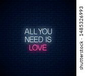 All You Need Is Love   Glowing...