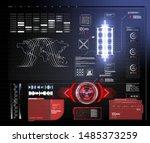 hud  ui  gui futuristic user...