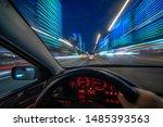 Movement Of The Car At Night At ...