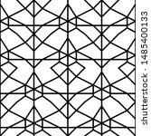 vector seamless pattern.... | Shutterstock .eps vector #1485400133