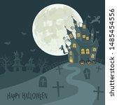 Halloween Image Vector...