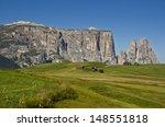 alpe di siusi  south tyrol ...   Shutterstock . vector #148551818