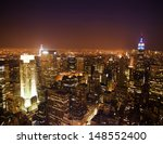 New York City Skyline Panorama...