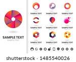 modern shape vector for banner  ... | Shutterstock .eps vector #1485540026
