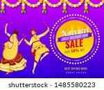 sale banner or poster design... | Shutterstock .eps vector #1485580223