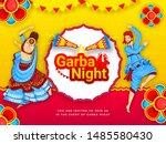 Garba Night Party Invitation...