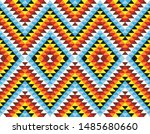 tribal seamless colorful... | Shutterstock .eps vector #1485680660
