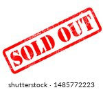 Sold Out   Red Stamp Text On...