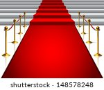 image on the staircase with red ... | Shutterstock .eps vector #148578248