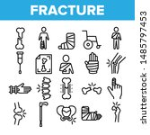 collection fracture elements... | Shutterstock .eps vector #1485797453