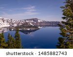 Crater Lake National Park In...