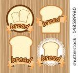 bread vector illustration | Shutterstock .eps vector #148589960