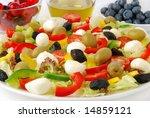 side salad | Shutterstock . vector #14859121