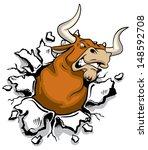 aggressive,angry,big,break,bull,bullock,cartoon,college,danger,fight,giant,gore,head,horn,icon