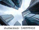 modern business center in... | Shutterstock . vector #148599410