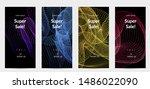 sale banners for social media... | Shutterstock .eps vector #1486022090