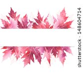 Abstract Banner With Pink...