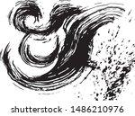 wave splash. brush stroke wave.   Shutterstock .eps vector #1486210976