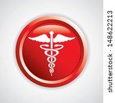 caduceus medical symbol vector...   Shutterstock .eps vector #148622213
