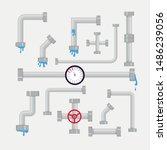 vector set of details ware...   Shutterstock .eps vector #1486239056