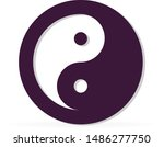 sign of chinese philosophy of...   Shutterstock .eps vector #1486277750