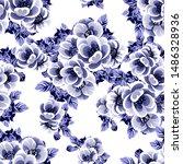 abstract elegance seamless...   Shutterstock .eps vector #1486328936