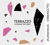 terrazzo flooring textured... | Shutterstock .eps vector #1486462793