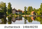 landscape of the town in russia ... | Shutterstock . vector #148648250
