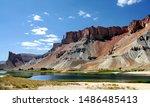 Band e amir lakes near bamyan ...